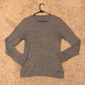 On The Byas Gray Long Sleeve Size Small